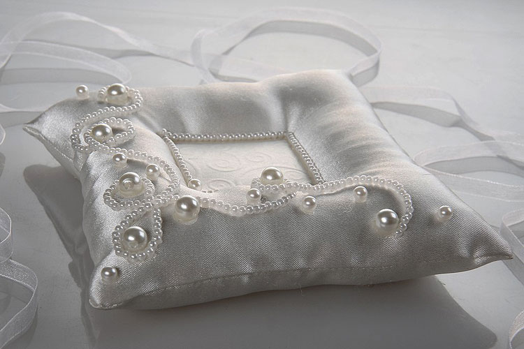 Как сшить подушку для колец на свадьбу